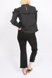 Movint Cotton Ruffle Top - Front full body