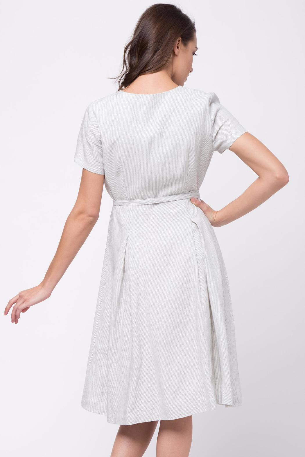 Movint Cotton Wrap Dress - Front Full Image