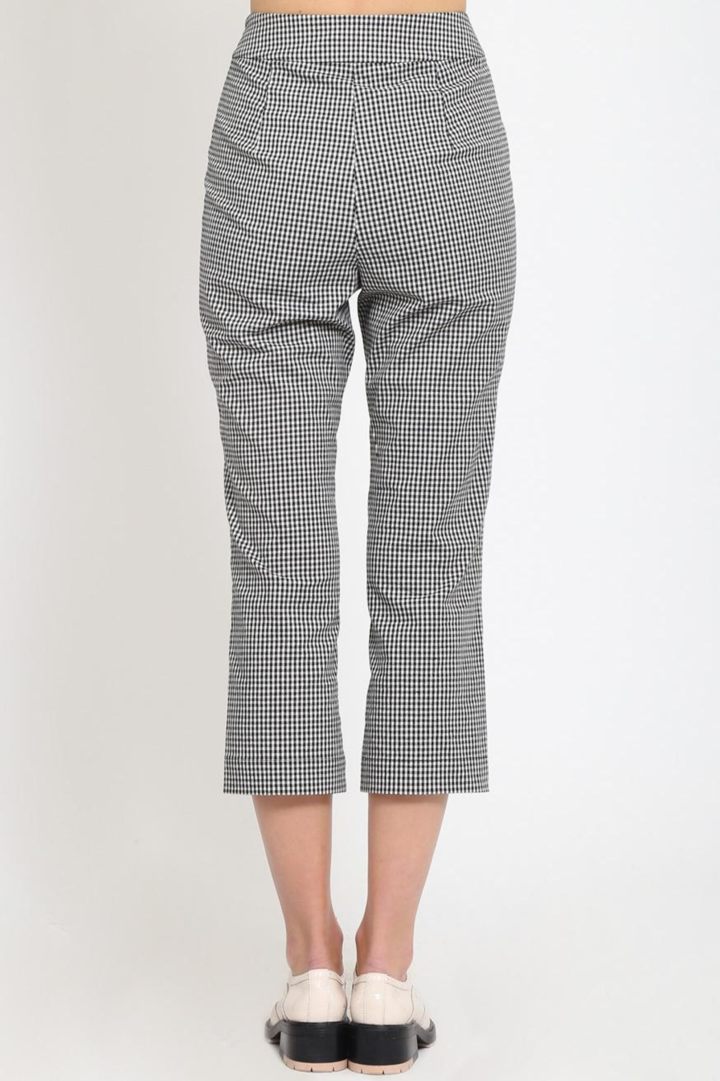 Movint Cropped Trousers - Side Cropped Image