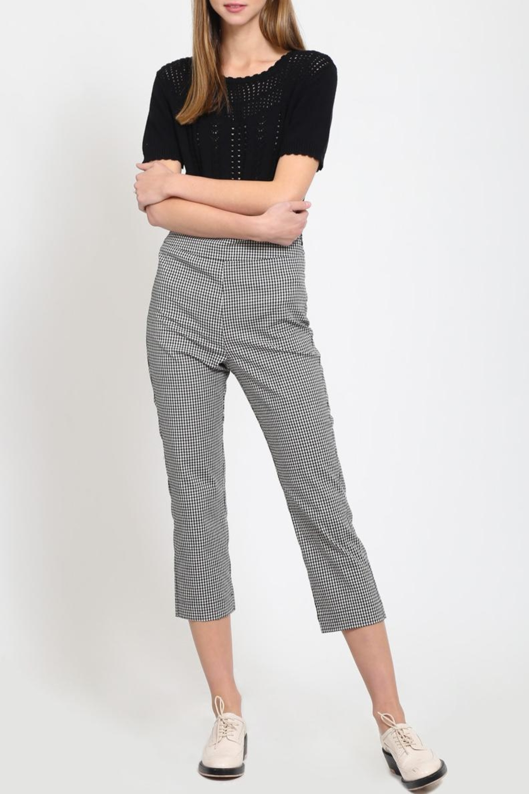 Movint Cropped Trousers - Front Full Image