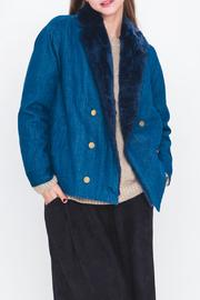 Movint Denim Fur Jacket - Product Mini Image