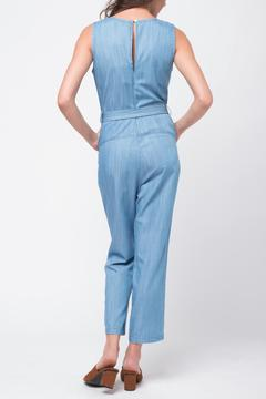 Movint Denim Jumpsuit With-Belt - Alternate List Image