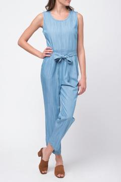 Movint Denim Jumpsuit With-Belt - Product List Image