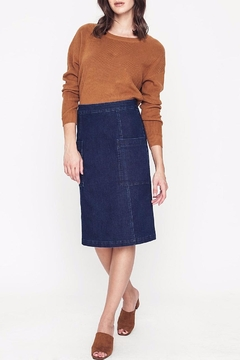 Shoptiques Product: Denim Pocket Skirt