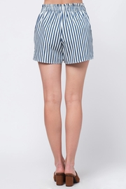 Movint Striped Waist Band Detail Shorts - Side cropped