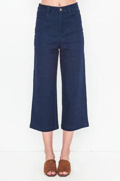 Movint Dark Denim Wide Pants - Product List Image