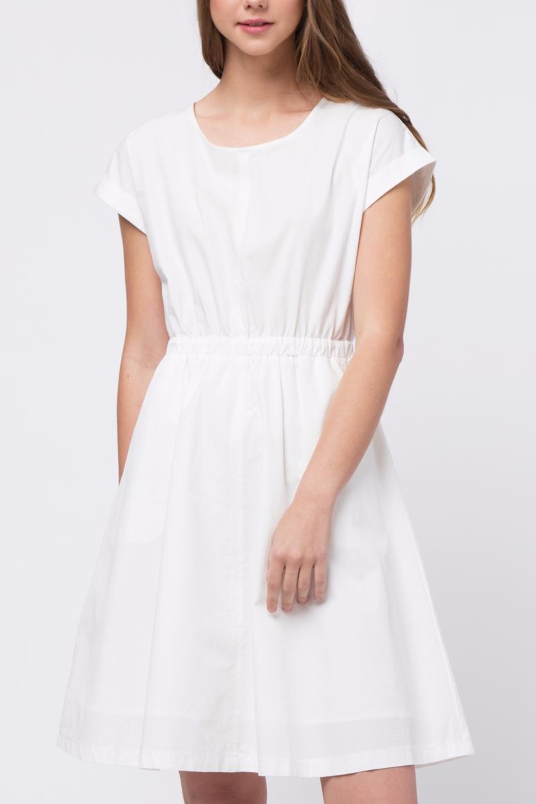 Movint Domal Sleeve Dress - Front Cropped Image