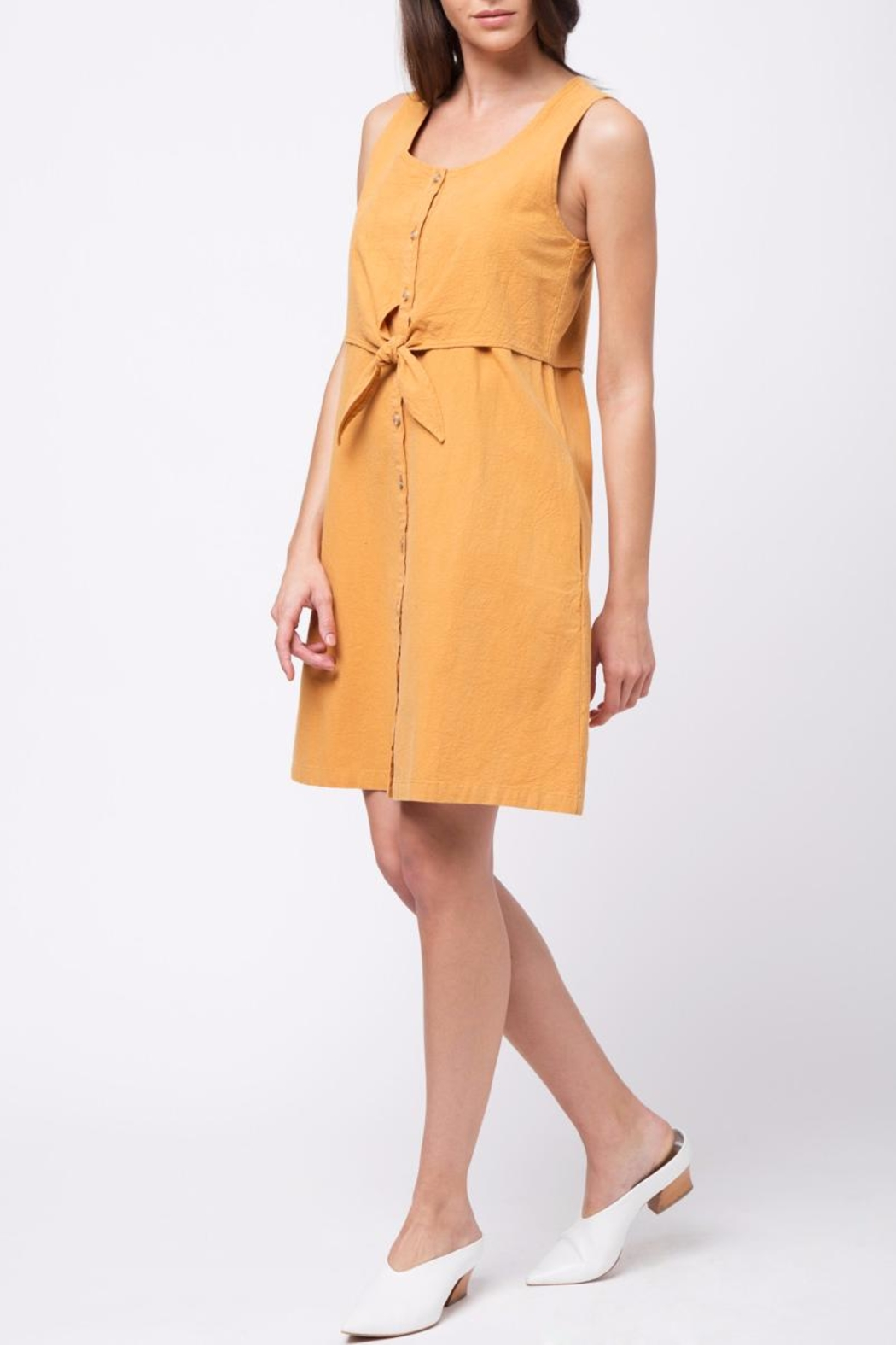 Movint Double Layered Top Dress - Side Cropped Image