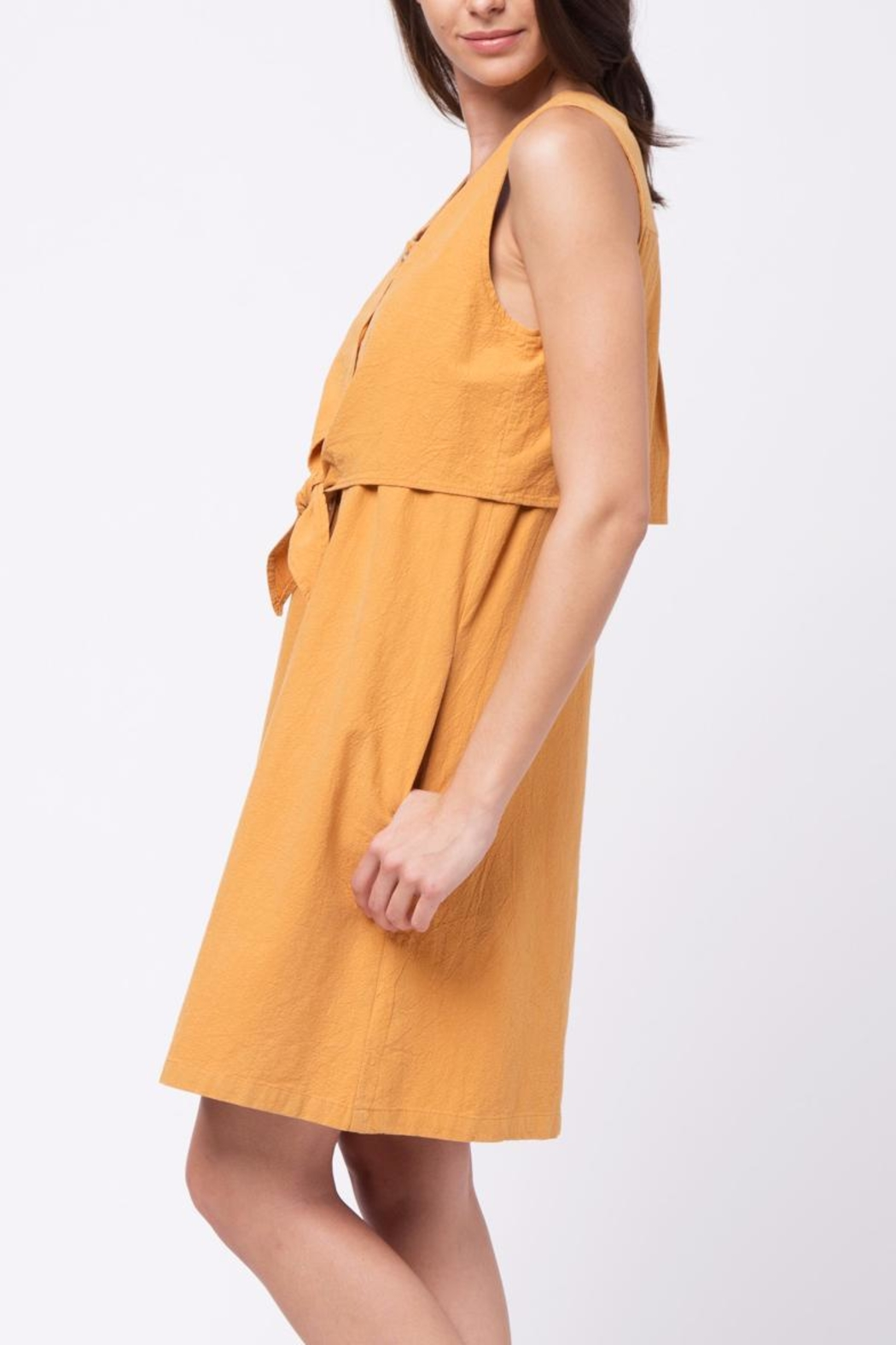 Movint Double Layered Top Dress - Front Full Image