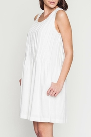 Movint Dress With Pintuck Detail - Front full body