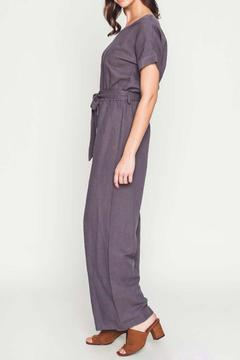 Shoptiques Product: Drop-Shoulder Jumpsuit