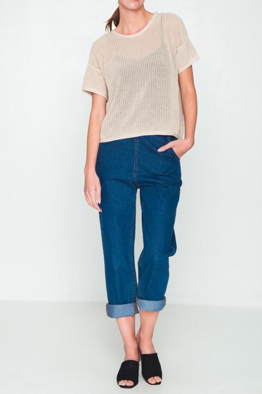 Movint Oversized Cropped Sweater from SoHo by Mo:Vint — Shoptiques