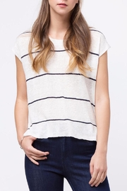 Movint Drop-Shoulder Striped Sweater - Product Mini Image