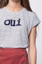 Movint Striped Tee - Back cropped