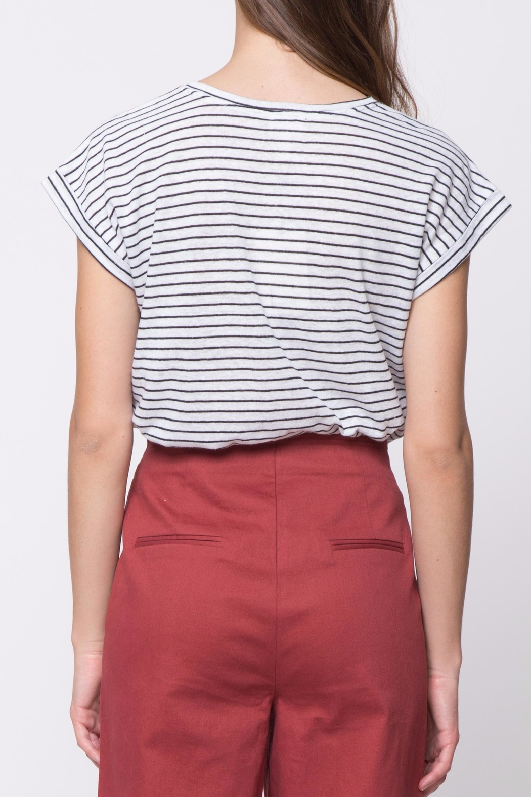 Movint Striped Tee - Front Full Image