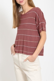 Movint Drop Shoulder Sweater - Front full body