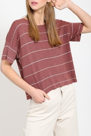 Movint Drop Shoulder Sweater - Front cropped