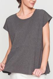Movint Drop Shoulder Tiered Tee - Front cropped