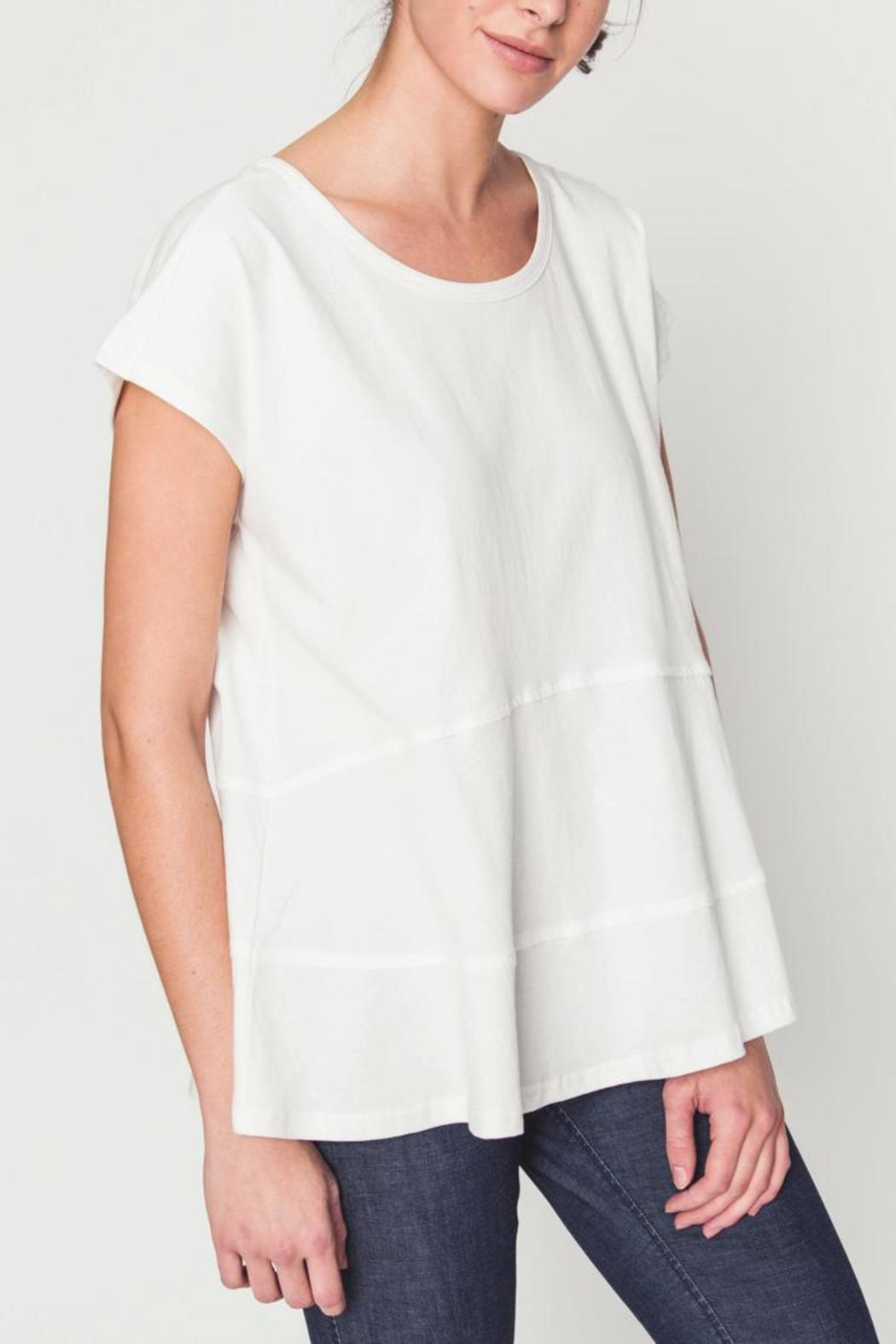 Movint Drop Shoulder Tiered Tee - Main Image