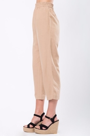 Movint Cropped Pants with Elastic Waist - Side cropped