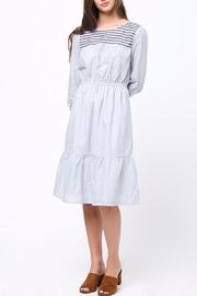 Movint Embriodery Shirring Dress - Product Mini Image