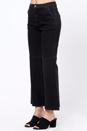 Movint Flared Hem Detail Pants - Side cropped