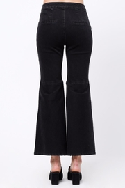 Movint Flared Hem Detail Pants - Front full body