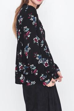 Movint Floral Print Chiffon Top - Alternate List Image