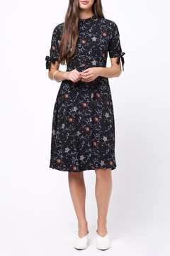 Shoptiques Product: Floral Mock Neck Dress