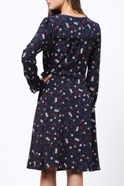 Movint Floral Wrap Dress - Front full body