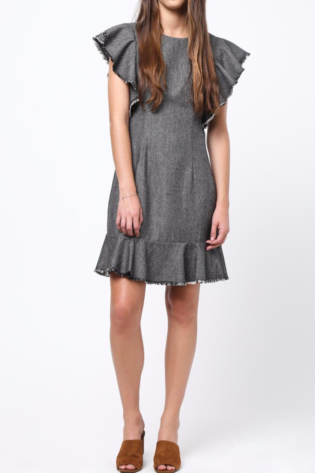 Movint Flutter Sleeved Dress - Main Image