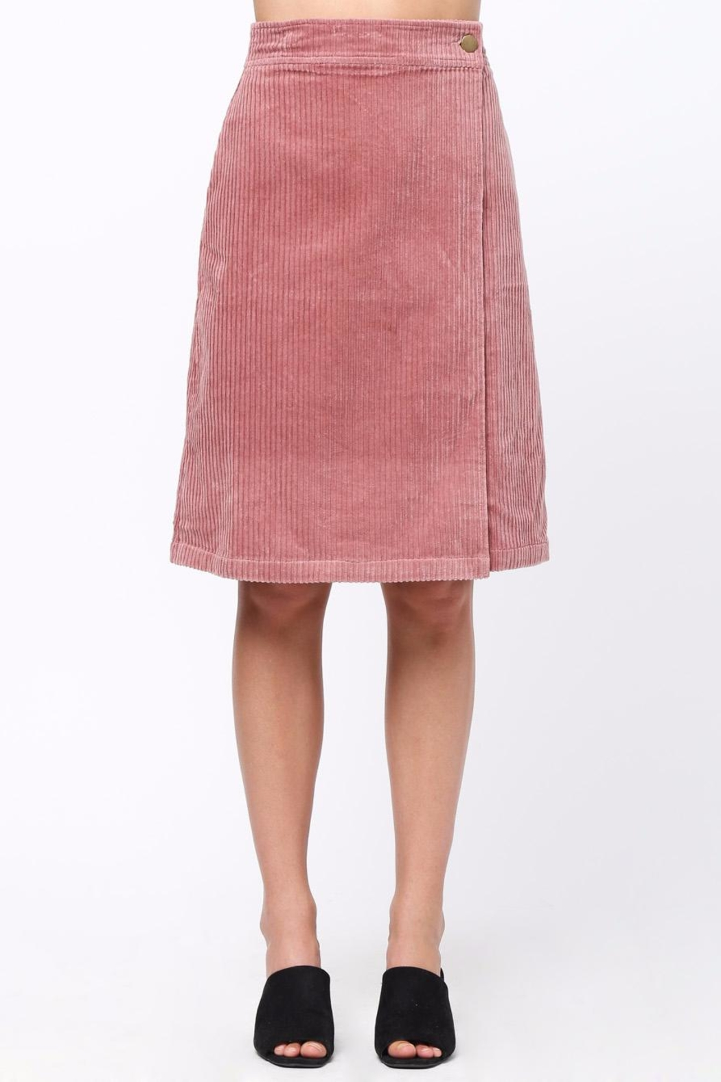 bb705c61c361 Movint Folded Corduroy Midi Skirt from California by Mo:Vint ...