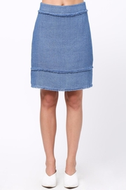 Movint Frayed Detailed Skirt - Product Mini Image