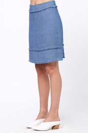 Movint Frayed Detailed Skirt - Side cropped