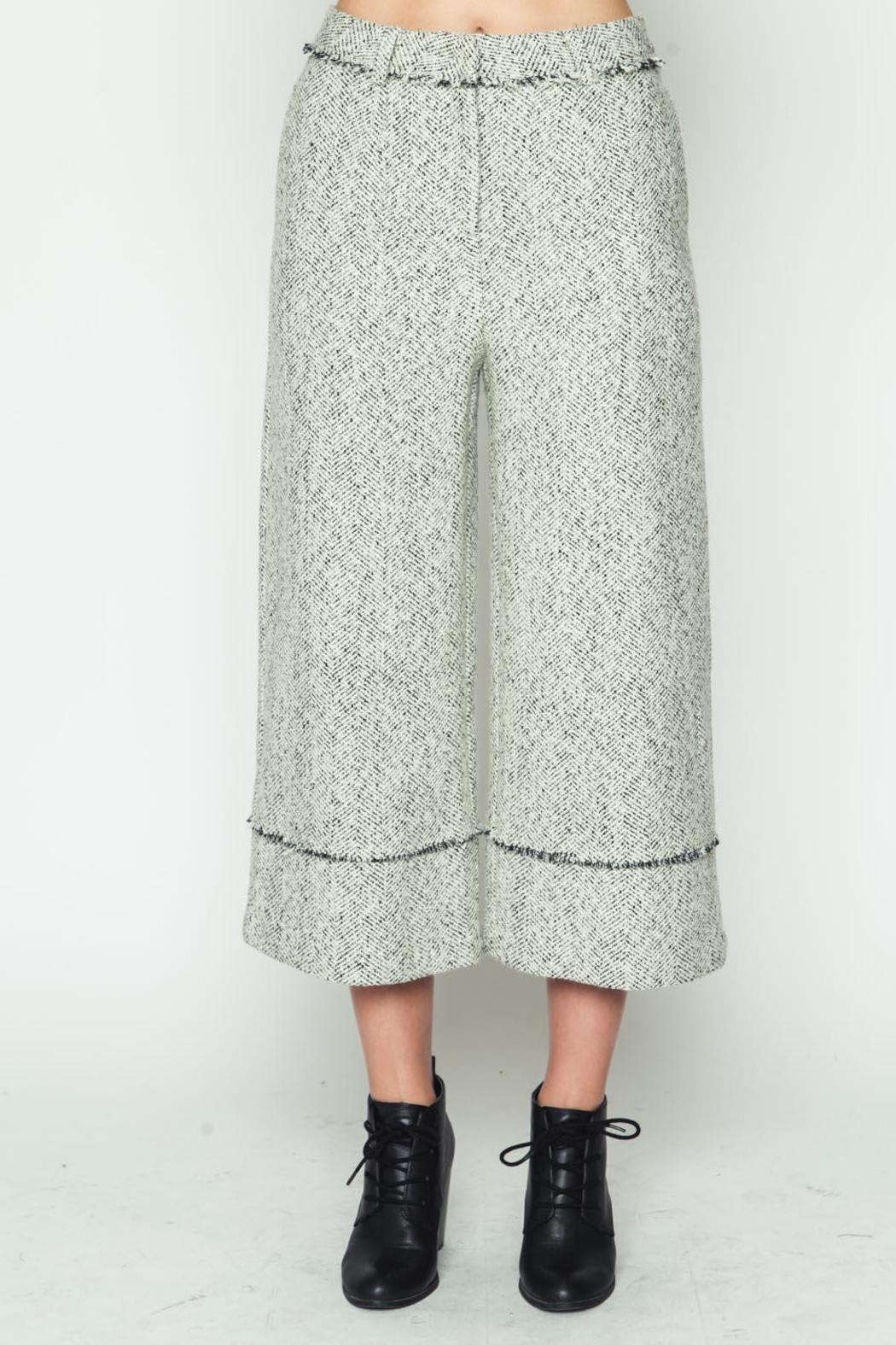 Movint Frayed Hem Pants - Main Image