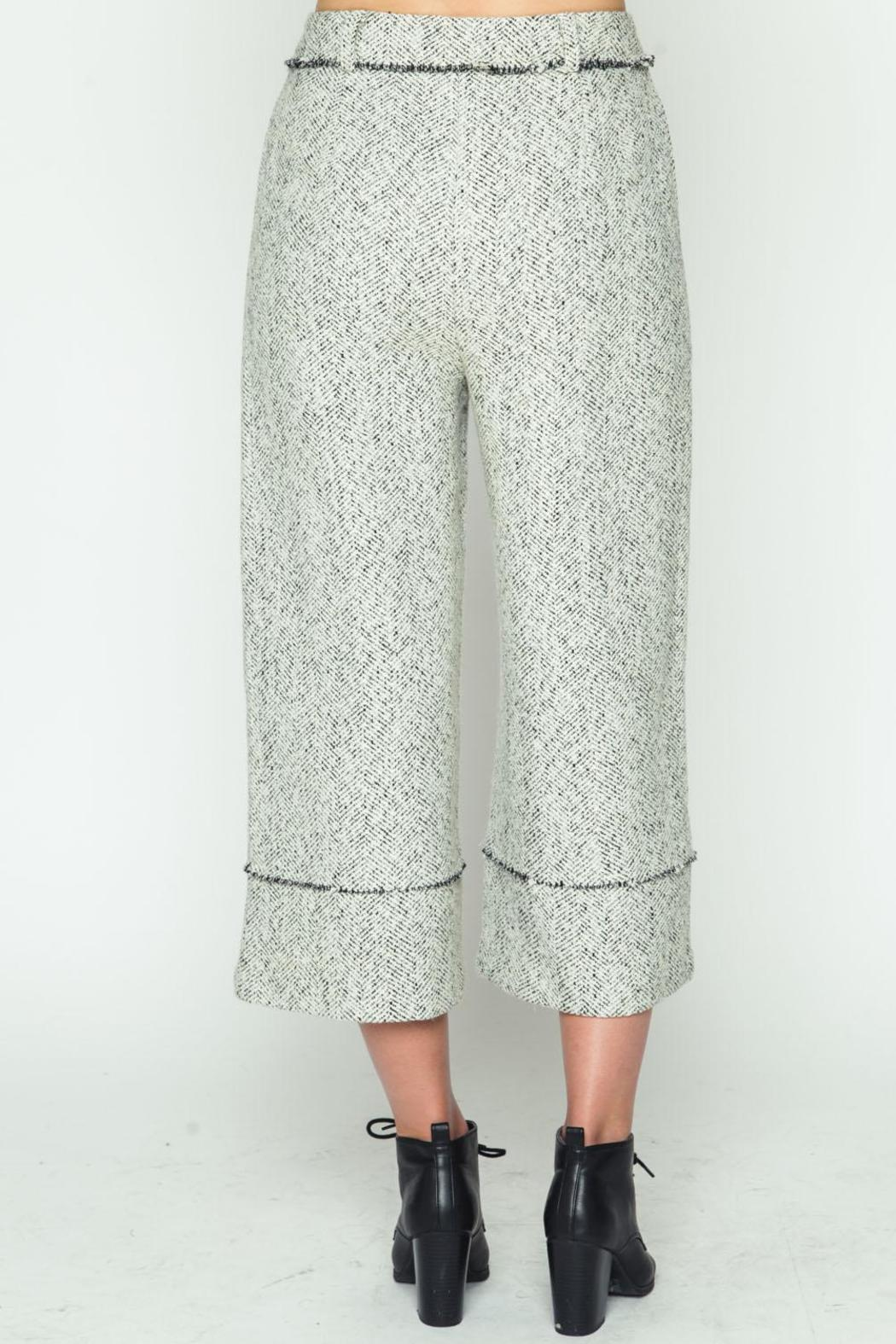 Movint Frayed Hem Pants - Side Cropped Image