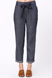 Movint Frayed Seam Trouser - Front cropped