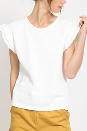 Movint Frill Sleeveless Top - Front cropped
