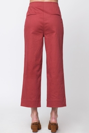Movint Front Button Detail Pants - Front full body