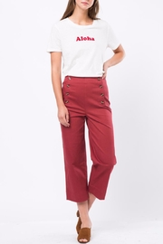 Movint Front Button Detail Pants - Other