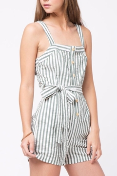 Movint Front Button Detailed Romper - Product List Image