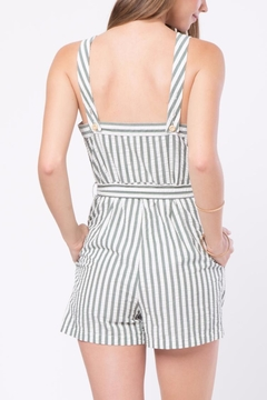 Movint Front Button Detailed Romper - Alternate List Image