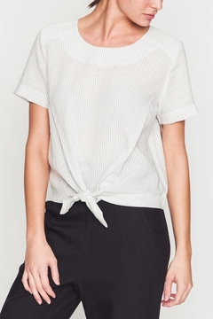 Movint Striped Knot Top - Product List Image