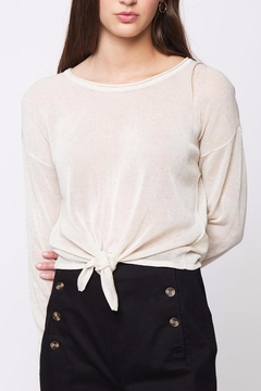 Shoptiques Product: Front Knot Sweater