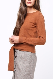 Movint Front Knot Sweater - Side cropped