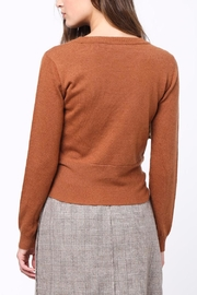Movint Front Knot Sweater - Front full body