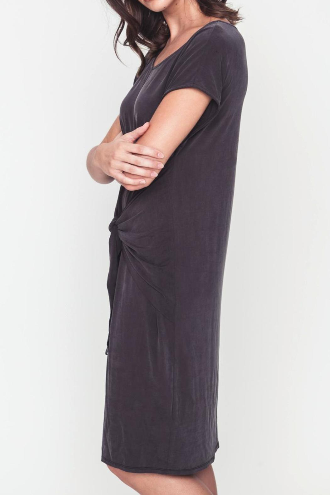 Movint Front Knot Dress - Front Full Image