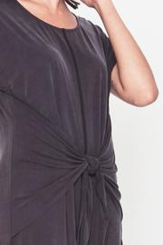 Movint Front Knot Dress - Back cropped