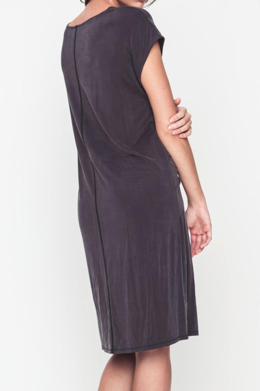 Movint Front Knot Dress - Side Cropped Image