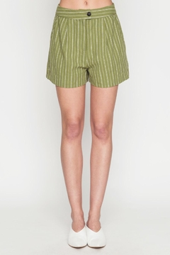 Movint Front Pleat Shorts - Product List Image